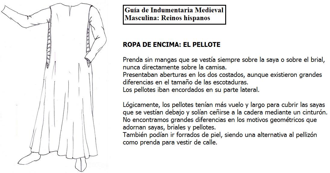 3. ROPA DE ENCIMA. EL PELLOTE