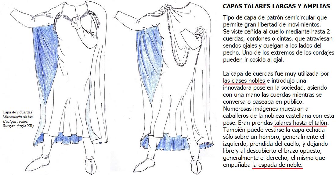 4. ROPA DE SOBRETODO capas y mantos