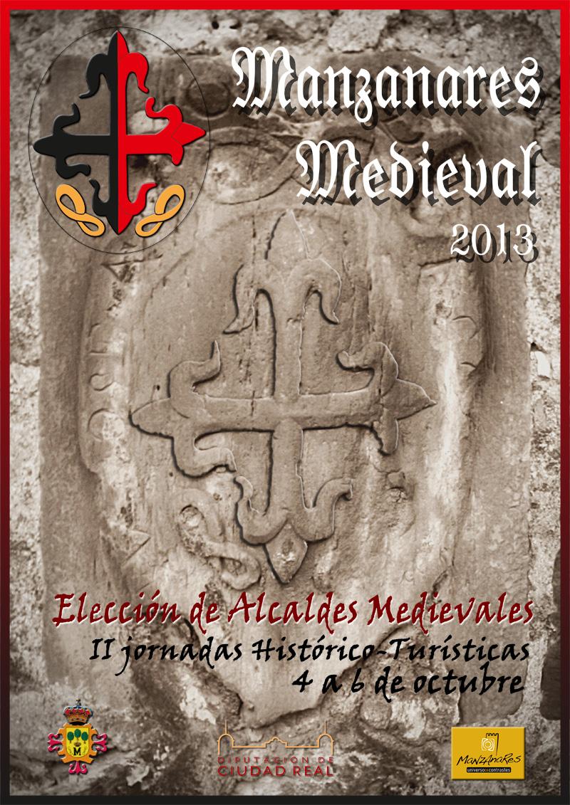 Cartel II Jornadas Medievales de Manzanares