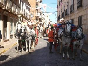 Desfile hasta parroquia