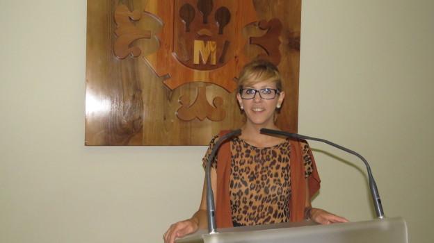 """Silvia Cebrián. Concejala de Cultura y Coordinadora de """"Manzanares Medieval. V Jornadas Histórico-Turísticas"""""""