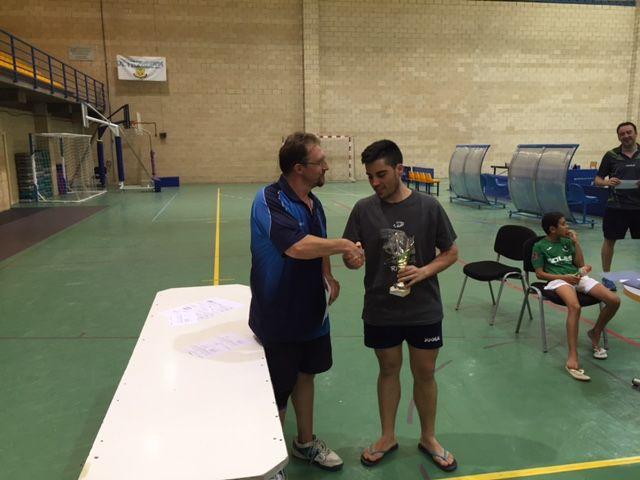 aefaff2fa Celebrado el I Torneo Tenis de Mesa de carácter Local y Provincial con  motivo de la Feria y Fiestas