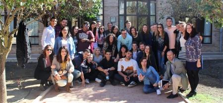 Técnicos de juventud participantes en el curso