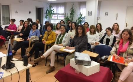 Profesionales que desarrollan el curso en la atención a mujeres con diversidad funcional víctimas de violencia de género