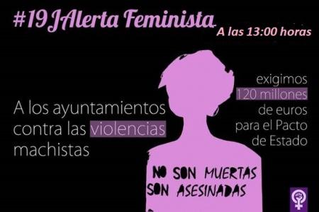 Concentración lunes 19 de junio a las 13:00 en la Plaza de la Constitución
