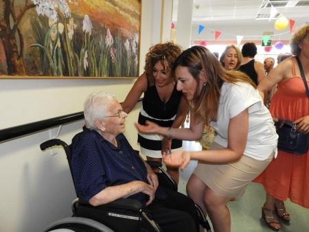 Homenaje a Amparo Lara con motivo de su 100 cumpleaños