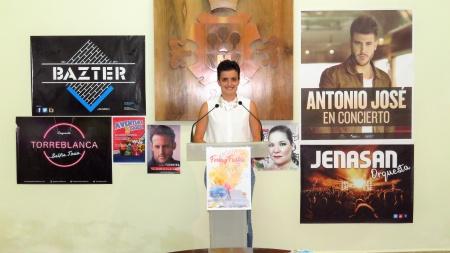 Esther Nieto-Márquez, en la presentación de la feria 2017