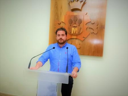 Pablo Camacho, concejal de empleo y personal