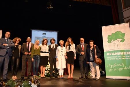 Acto de reconocimiento en la celebración del Día de la Mujer Rural que se ha celebrado en Almagro