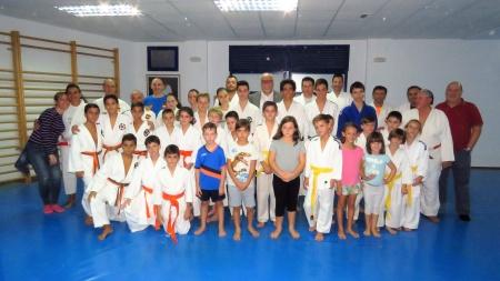 Foto conjunta en la inauguración del curso
