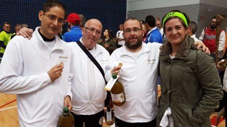 Arqueros de Manzanares participantes en la prueba de Jaén