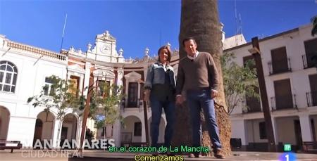 Fotograma del programa grabado en Manzanares
