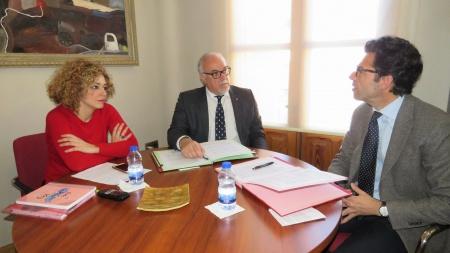 Reunión con el director del Instituto Sotomayor