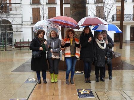 Inauguración de la exposición urbana 'Mujeres que hicieron historia'