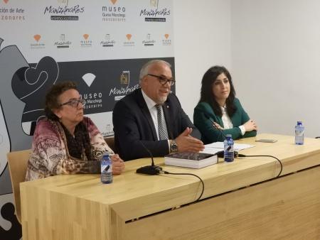 Julián Nieva Gemma de la Fuente y Prado Amores inauguran 'Alma del Vino'