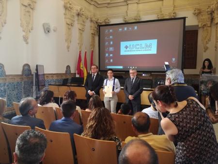 Samuel de la Torre recibió el reconocimiento en Toledo