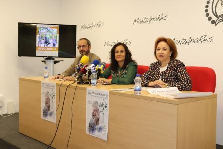 Prado Zúñiga presentó las jornadas junto a Pablo Aguado y Alfonsa Lara