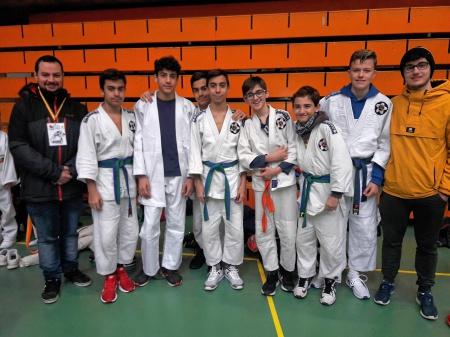 Competidores manzanareños en la fase disputada en Albacete