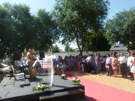 Homenaje a Miguel Ángel Blanco en el parque que lleva su nombre