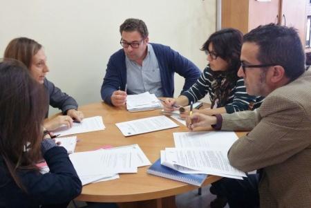Reunión de coordinación con los equipos de orientación de los centros