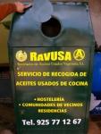 Imagen: contenedor específico para depositar aceite vegetal.