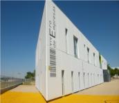 Imagen: fachada del Vivero de empresas