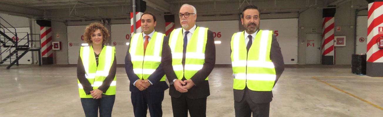 """Inauguración de la nueva nave de la empresa """"Palibex"""" en Manzanares"""