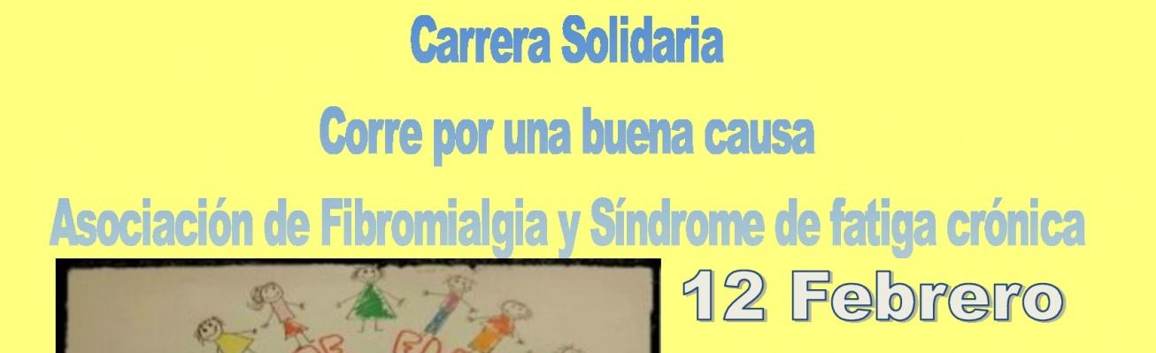 Cartel anunciador de la Carrera Solidaria en Manzanares