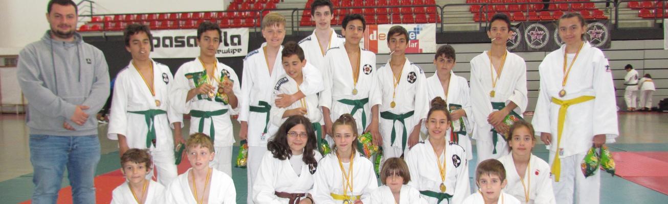 Escuela de Judo de Manzanares en el festival de Puertollano