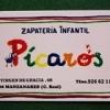 Imagen: Logotipo PICAROS ZAPATERÍA INFANTIL SL