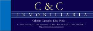 Imagen: logotipo INMOBILIARIA C&C (Mª Cristina Camacho Diaz Pinés)