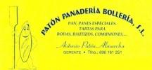 Imagen: Logotipo CAFETERÍA PATÓN