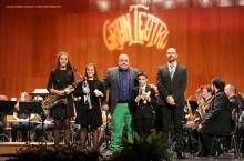 Presentación de los educandos incorporados a la banda