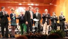 El alcalde y la concejala de Cultura entregaron los reconocimientos de la Gala de la Música