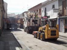 Obras de mejora en la calle Carrilejos