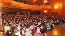 El público llenó el Gran Teatro