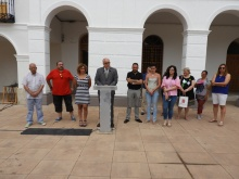 Concentración en la Plaza de la Constitución