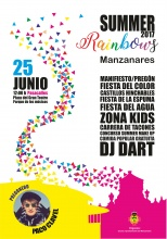 Cartel del II Summer Rainbows