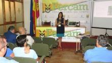 """Helena Cuartero presentó el sistema """"Irrigest"""" en las conferencias técnicas de Fercam"""