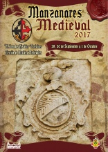 Cartel anunciador de las VI Jornadas Medievales de Manzanares