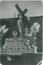 Llegada de la imagen del patrón en 1942