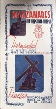 Programa de los actos de 1942