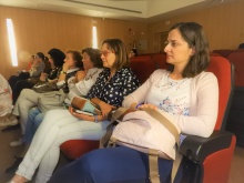 """Público asistente a la conferencia """"Cuando el alzheimer no puede decidir por sí mismo: la incapacitación"""""""