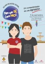 Cartel de la campaña para adolescentes