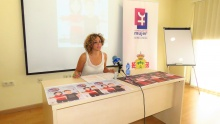 Beatriz Labián en la presentación de la campaña