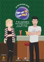 Cartel de la campaña para jóvenes