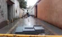 Estado de las obras en la calle Orden de Montesa