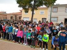 Alumnos del colegio Tierno Galván