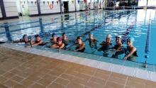 Entrenamiento de la disciplina de natación