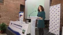 Elena Carrasco, directora general de Programas de Empleo, en su intervención